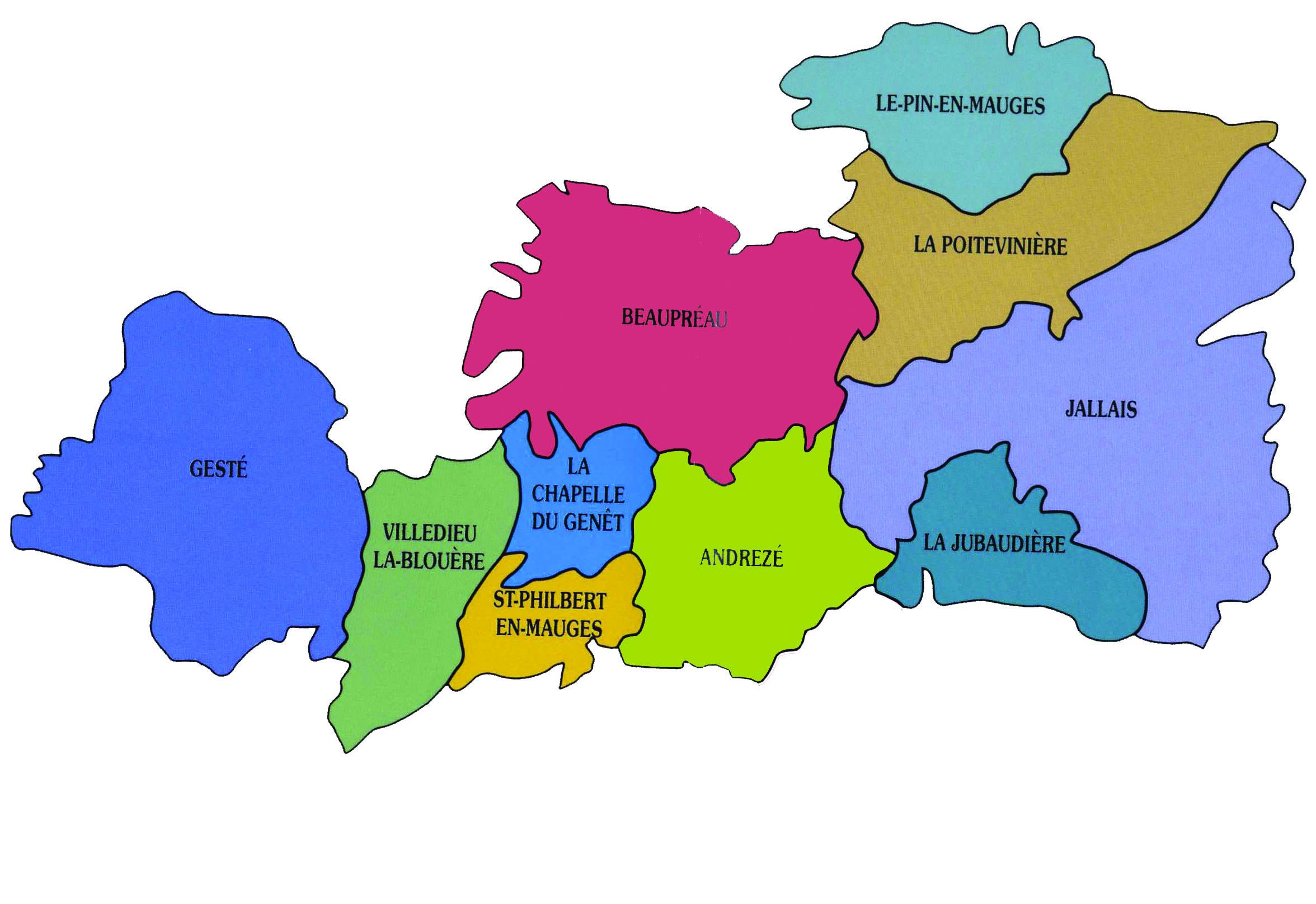 carte Commune Nouvelle