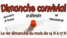 rendez-vous Dimanche 18 novembre à 12h30 - Espace paroissial Beaupréau