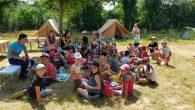Premières nouvelles du mini-séjour d'Andrezé au Centre équestre : les enfants se sont installés dans les tentes. Des tentes étaient déjà montées suite au mini-séjour de la semaine dernière. Des tentes ont été rajoutées ce matin, les 30 enfants se sont répartis très rapidement en 2 groupes : 1 groupe de 14 et 1 groupe [...]
